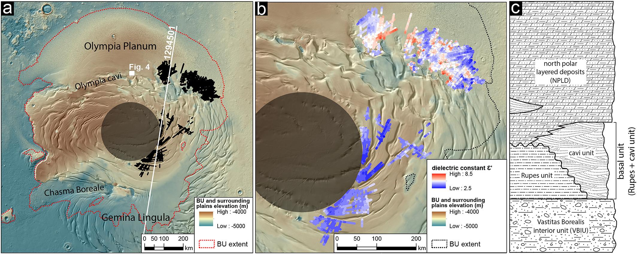 марс огромные запасы воды