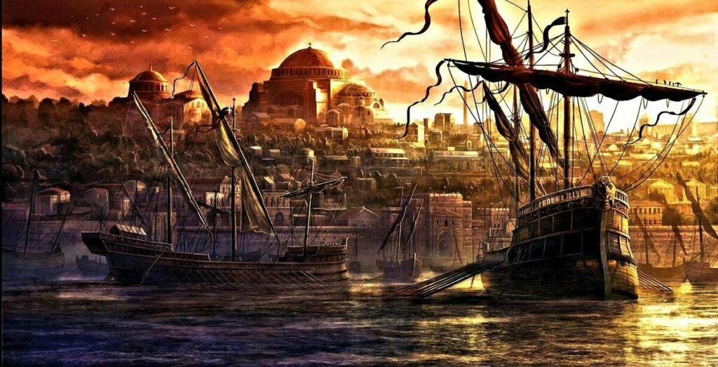 История кораблей: древние символы