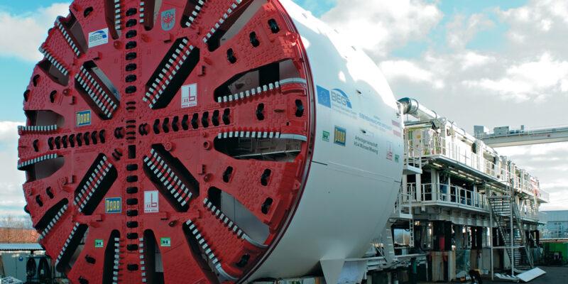 Машина для строительства туннелей