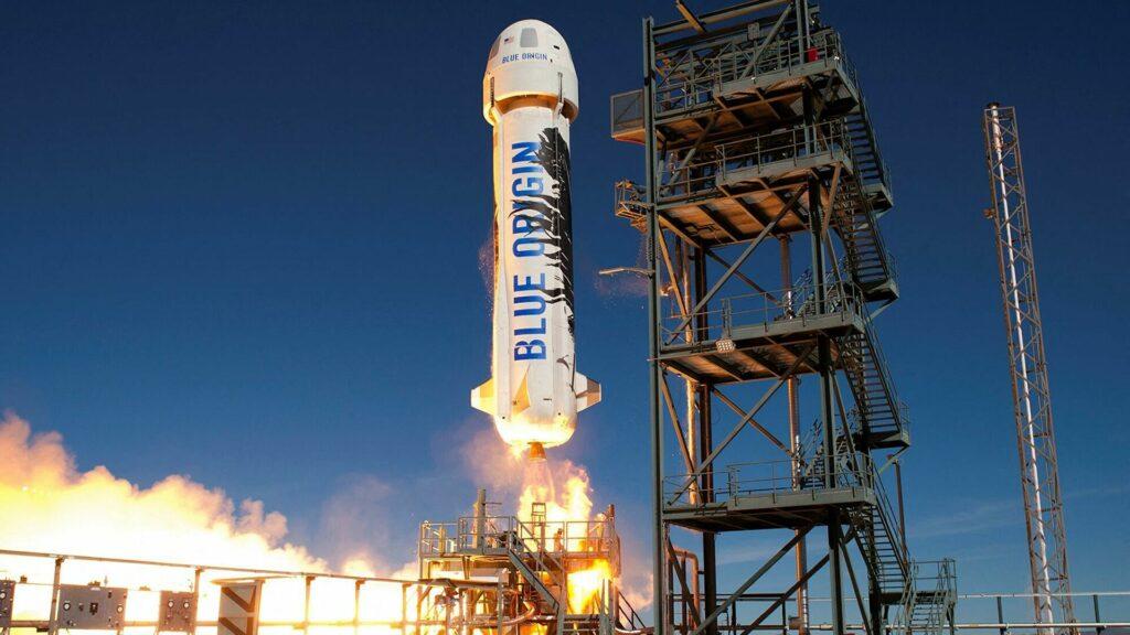 Blue Origin совершит первый запуск капсулы New Shepard