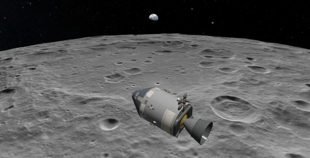 Аполлон 8 в декабре 1968 года