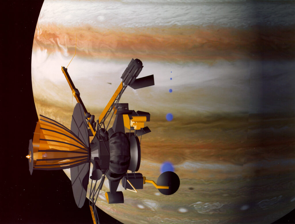 """NASA умышленно направило свой космический зонд """"Галилео"""""""