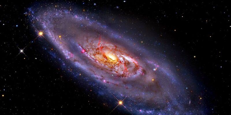 Спиральная галактика M106