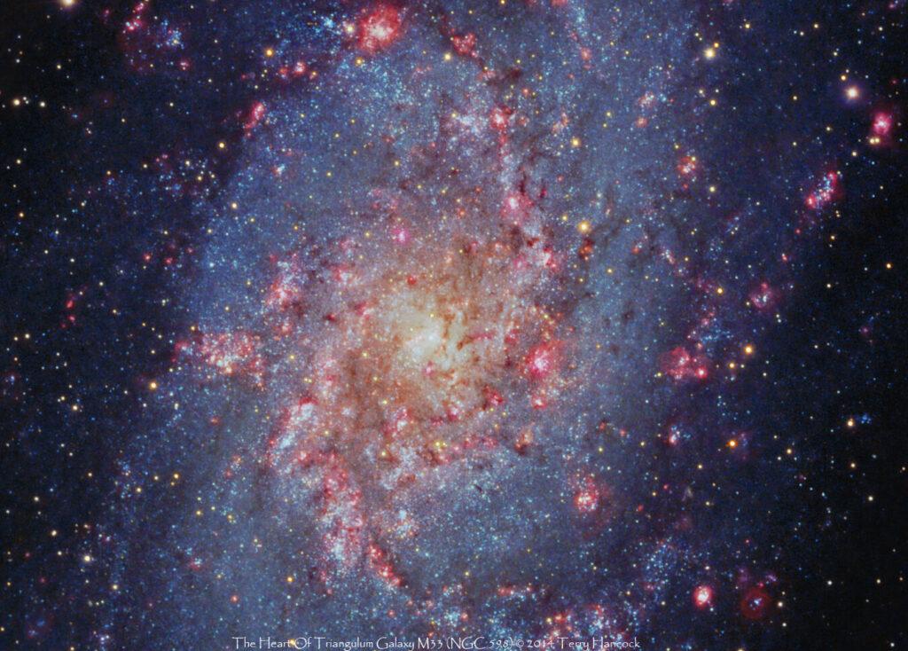 Спиральная галактика M33