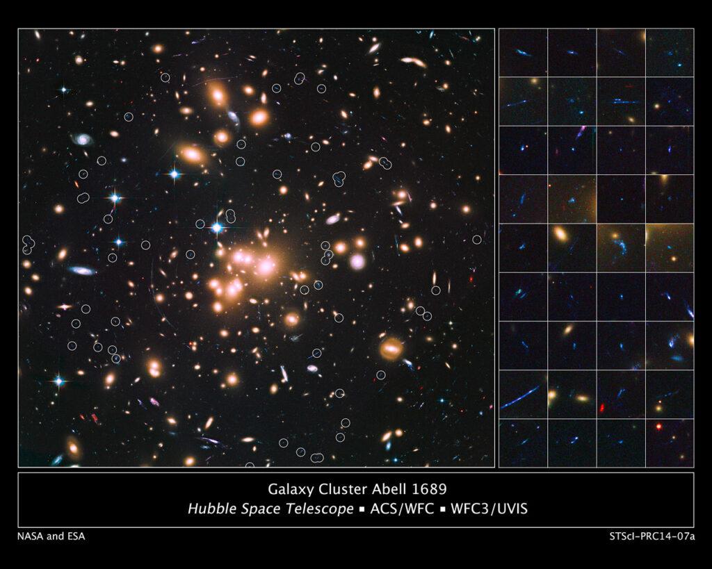 Галактический кластер Abell 1689