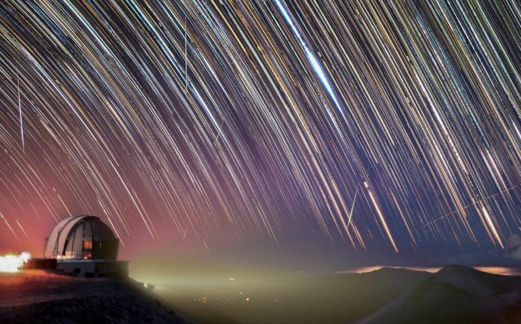 Метеоритный поток Геминиды, 14 декабря 2020