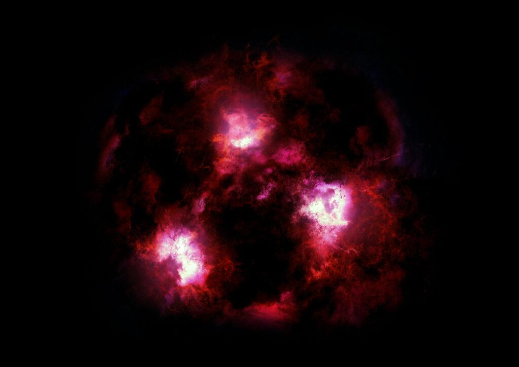 Астрономам удалось обнаружить неизвестную ранее древнюю мертвую галактику