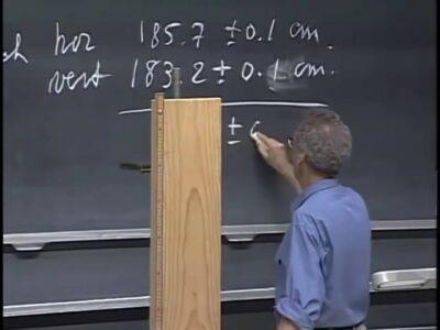 MIT Лекция по физике